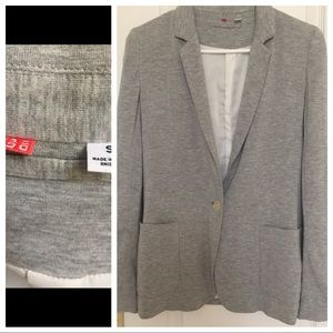 Uniqlo Gray Soft Blazer